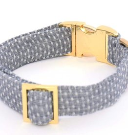Swiss Dots Dog Collar - XS