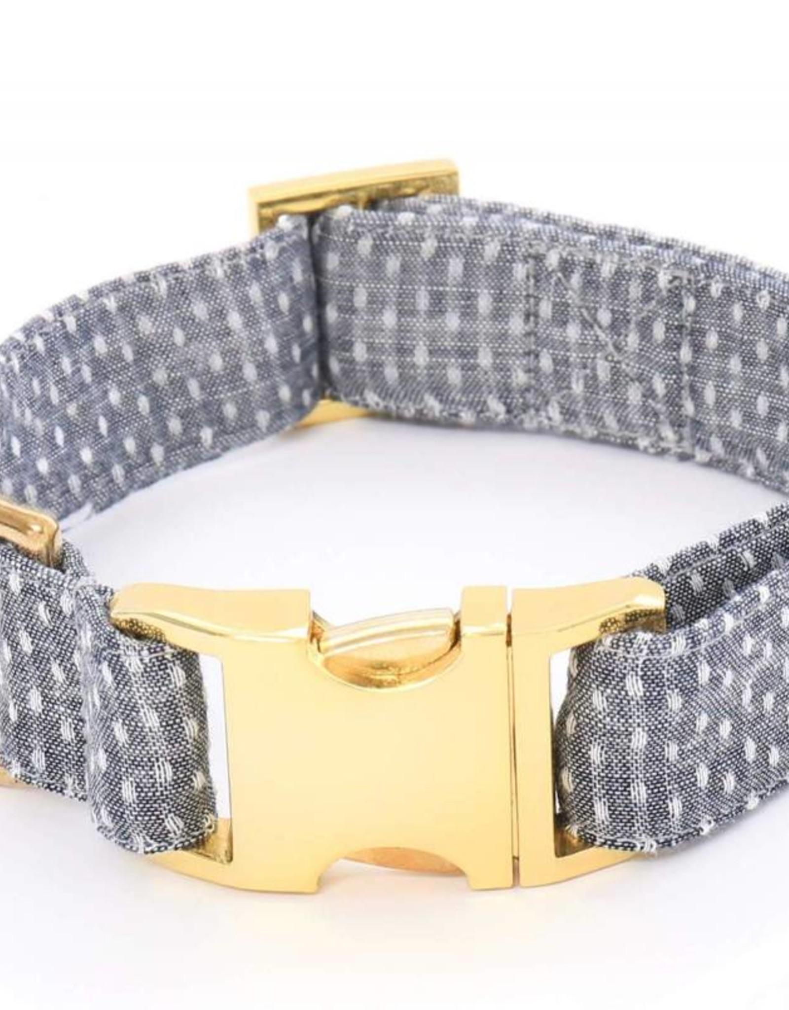 Swiss Dots Dog Collar - XS