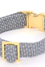 Swiss Dots Dog Collar - S