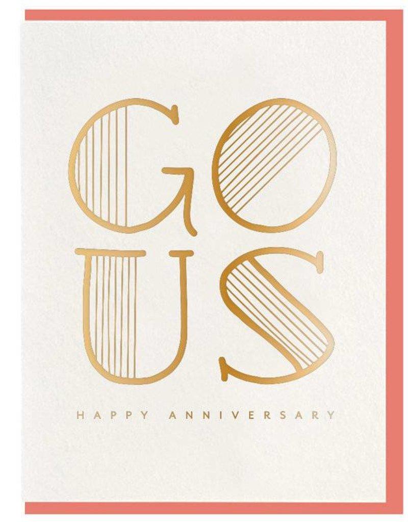 Go Us Anniversary Card