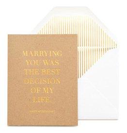 Best Decision Card