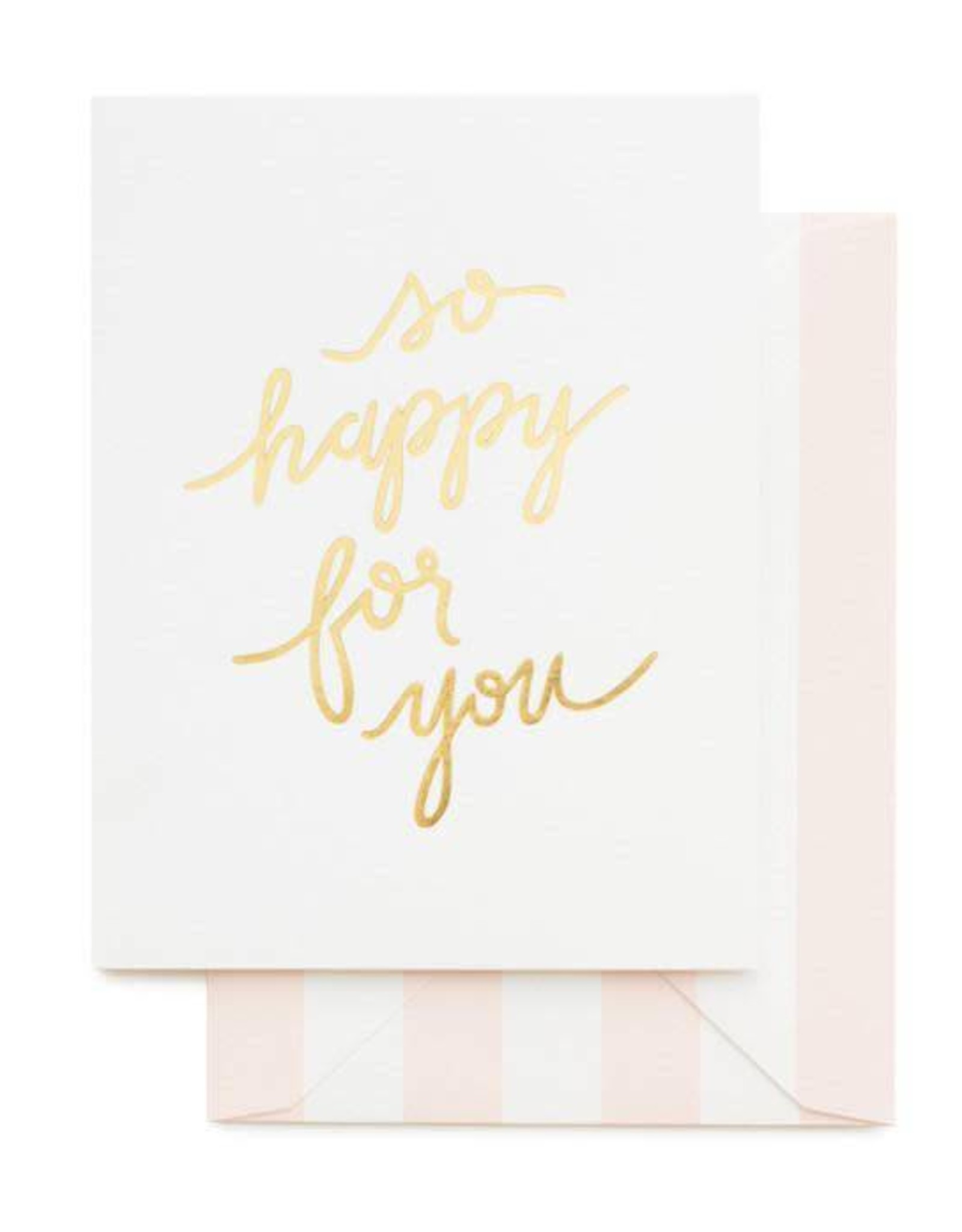 So Happy for You Card