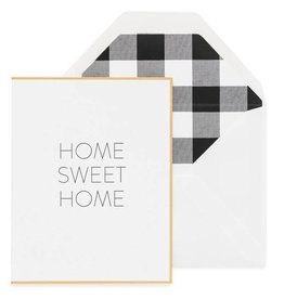 Home Sweet Home Buffalo Check Card