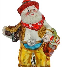 Santa Ornament - Saddle