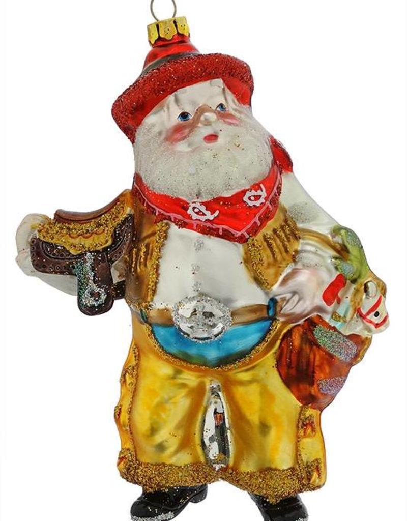 Santa Ornament - Saddle
