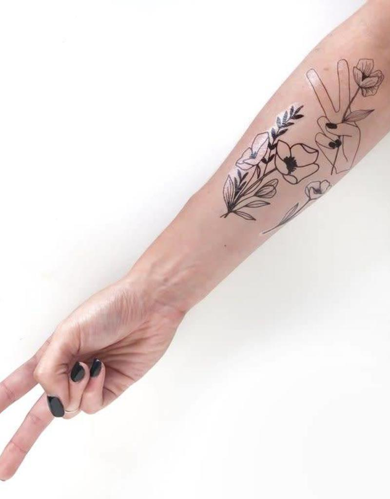 Temporary Tattoos - Flowers