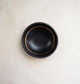 Black + Gold Ring Dish