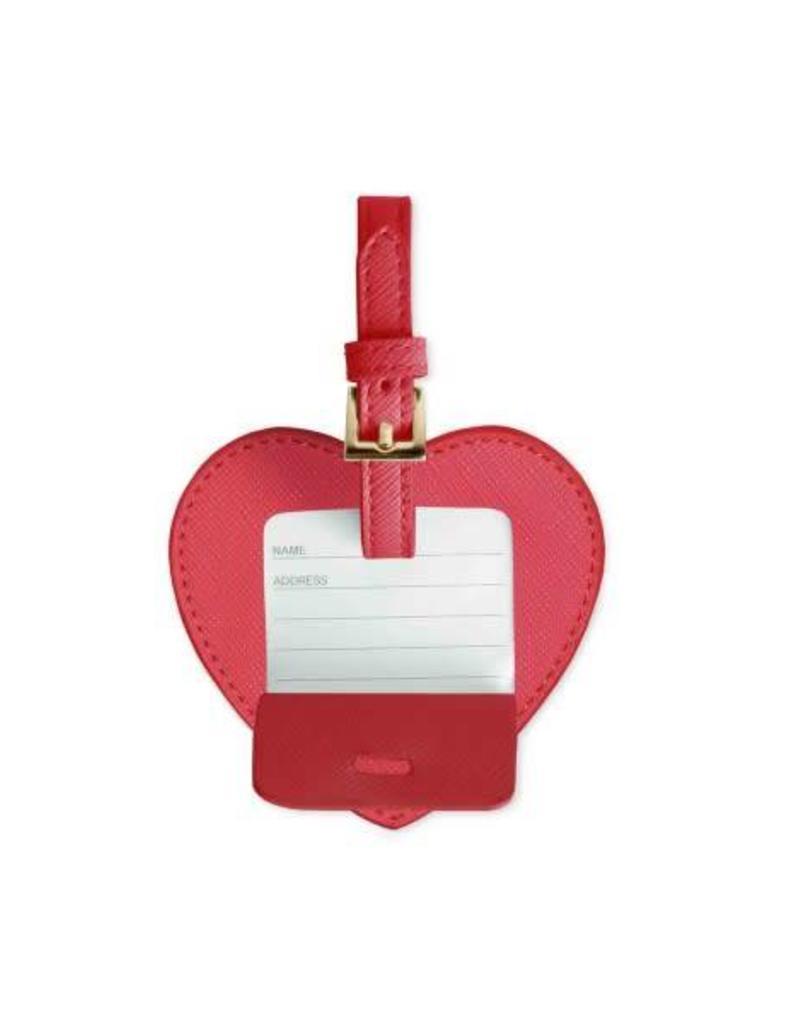 Heart Luggage Tag - Adventure Awaits