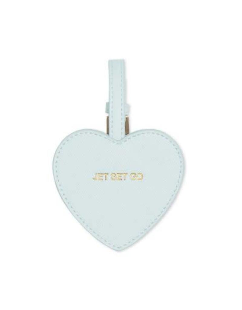 Heart Luggage Tag - Jet Set Go