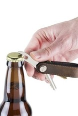 Leather Key Holder Bottle Opener