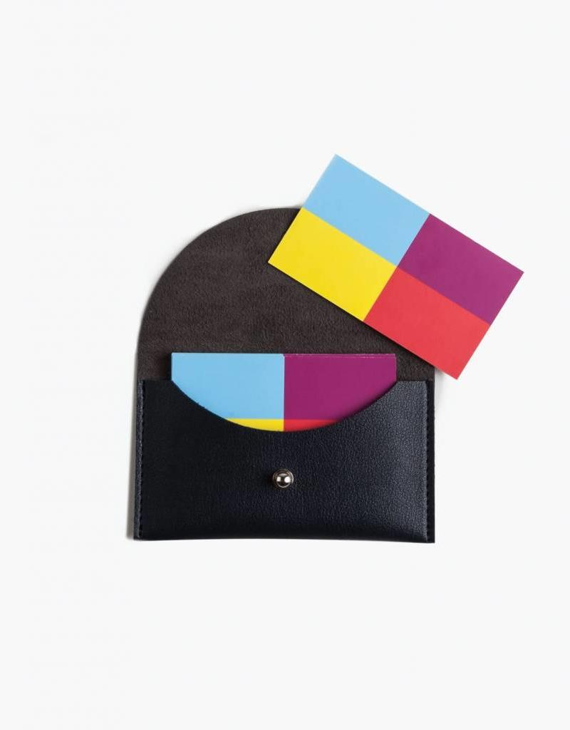 Minimalist Card Case - Navy