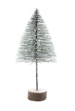 Artificial Tree on Wood Base - Small
