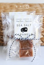 Dark Chocolate Marshmallow Caramels - 4 Piece