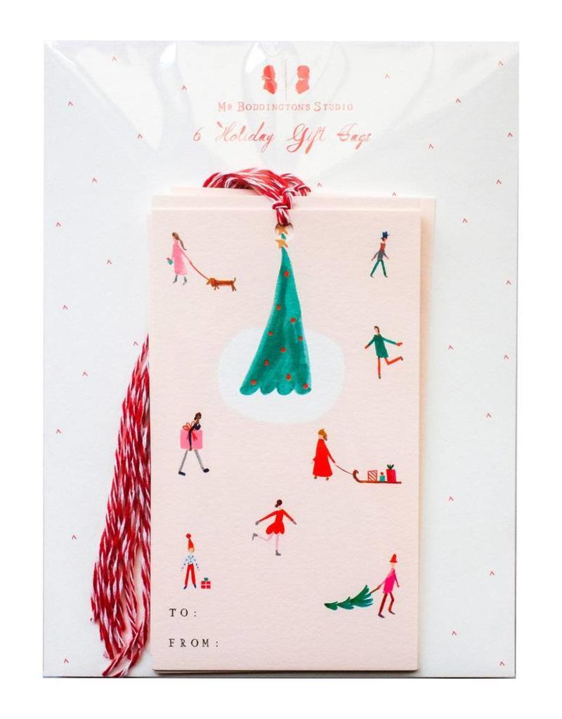 Christmas in Copenhagen Gift Tags - Set of 6