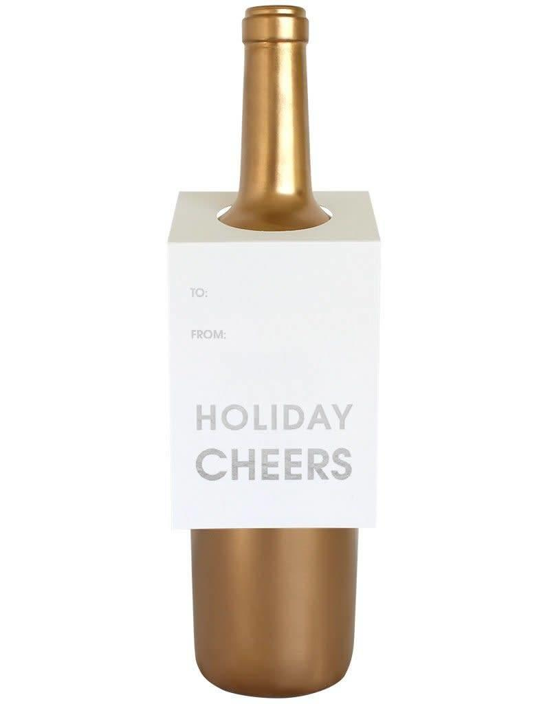 Holiday Cheers Wine & Spirit Tag - Single