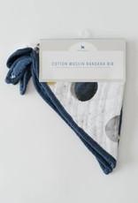 Cotton Muslin Bandana Bib 2 pack - Planetary Set