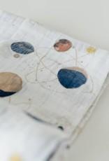 Cotton Muslin Swaddle Single - Planetary