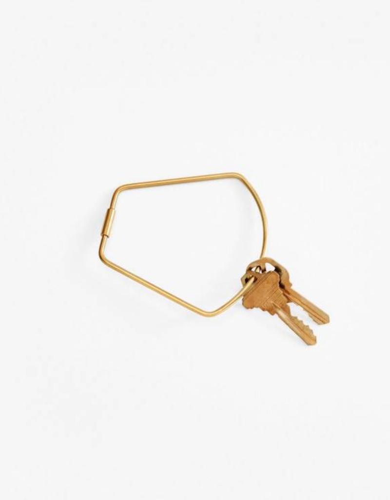 Bell Key Ring - Brass