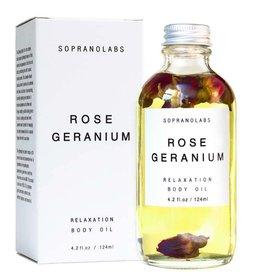 Rose Geranium Body Oil
