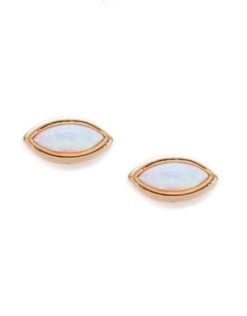 Isla Opalite Stud Earrings