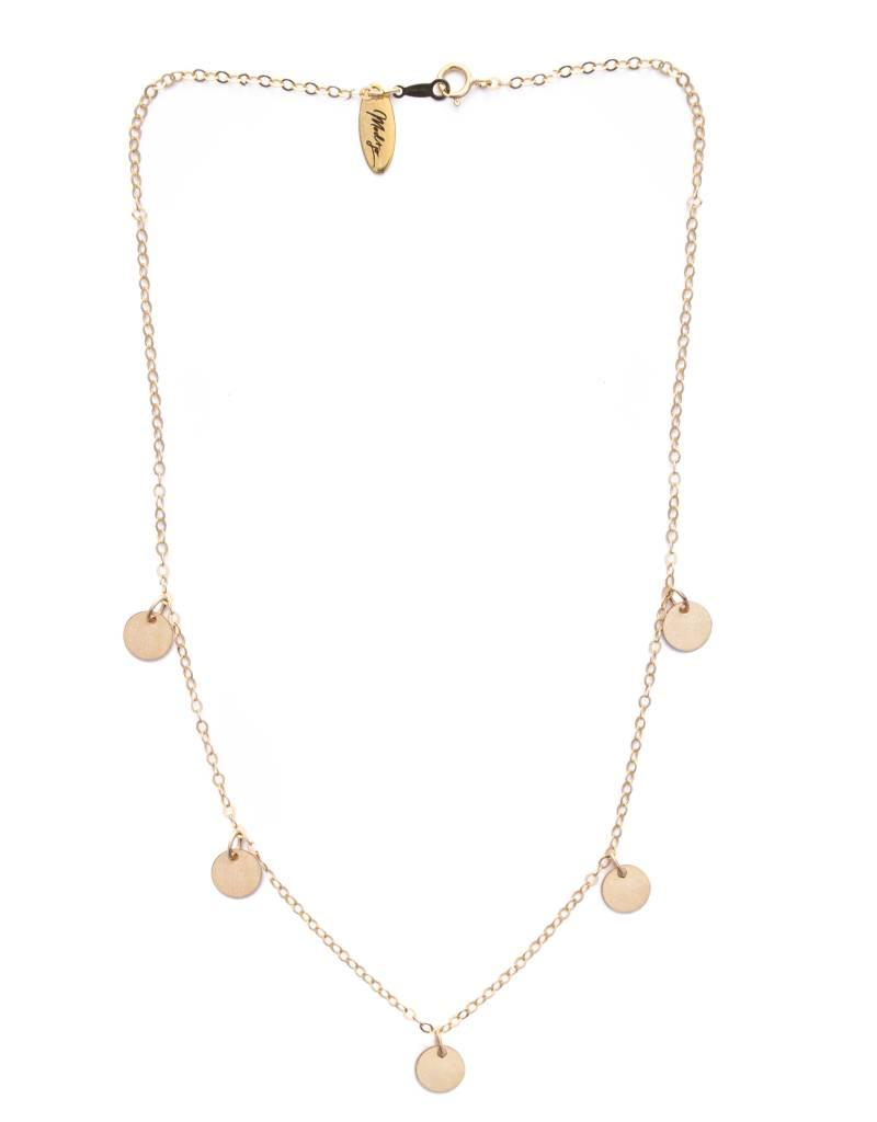 Jolie Shorty Necklace - Gold Filled