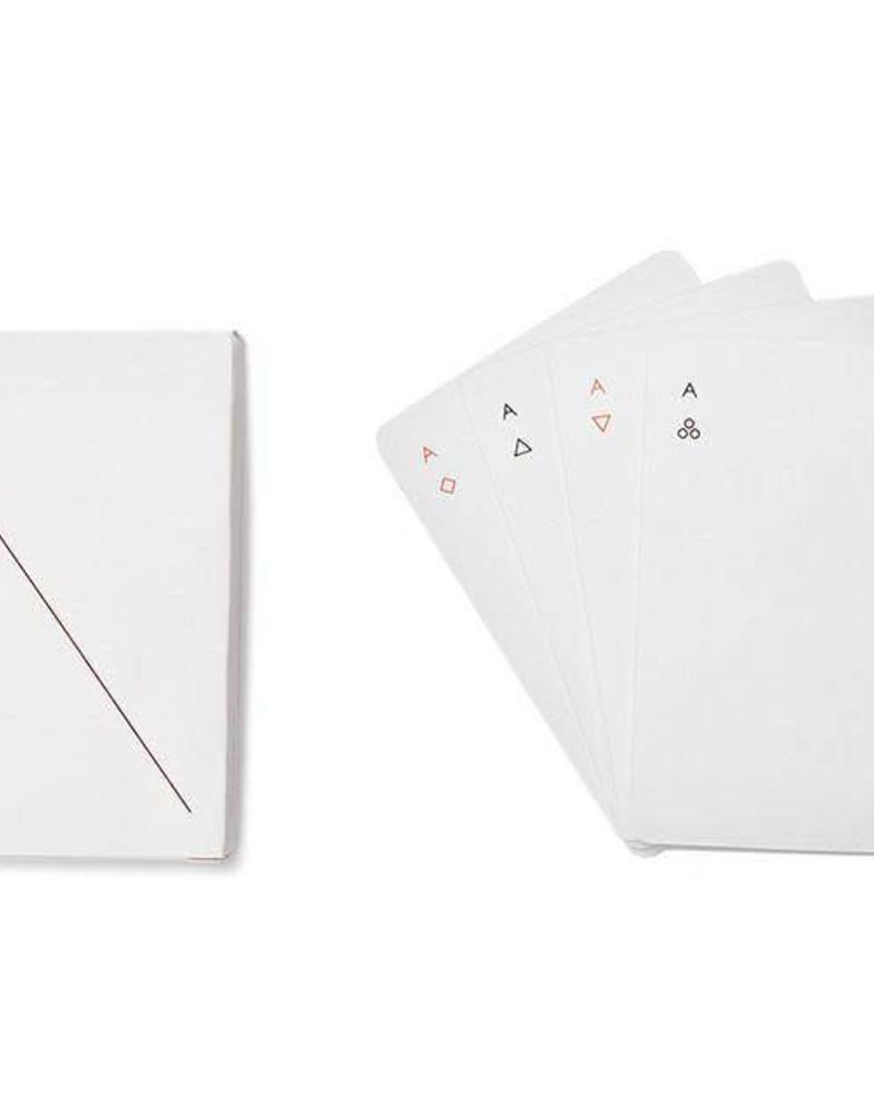 Minim Playing Cards - White