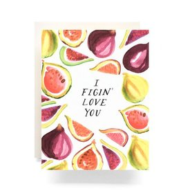 Figin Love You Greeting Card