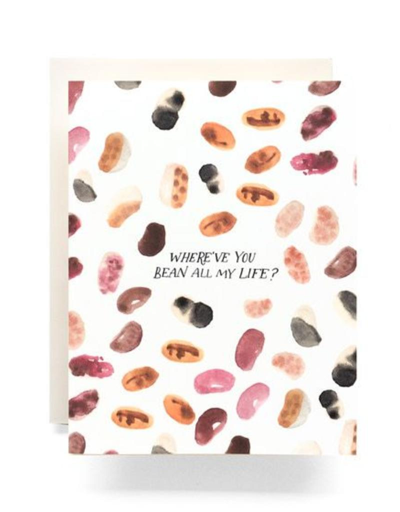 Where Have You Bean? Greeting Card