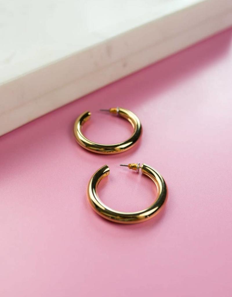 Amore Hoop Earrings