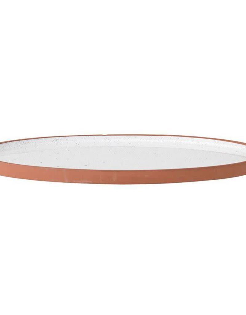 Terra Cotta Evelyse Plate