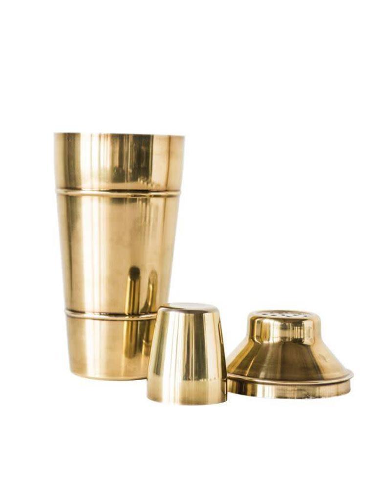 Brass Cocktail Shaker