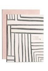 Wedding Stripe Card