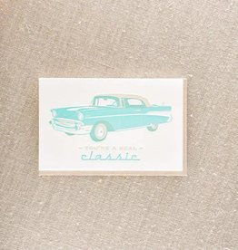 Real Classic Car Card