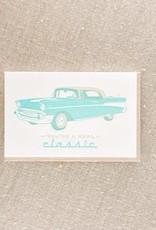 Real Classic Car Card