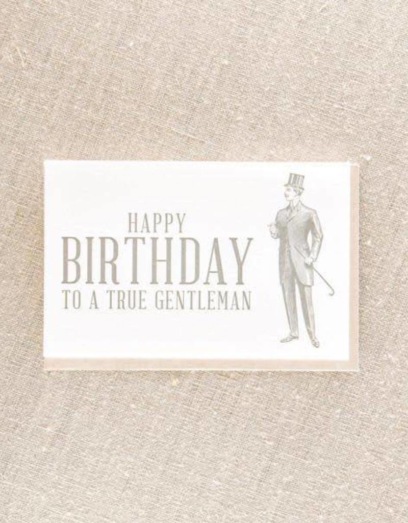 Birthday Gentleman Card