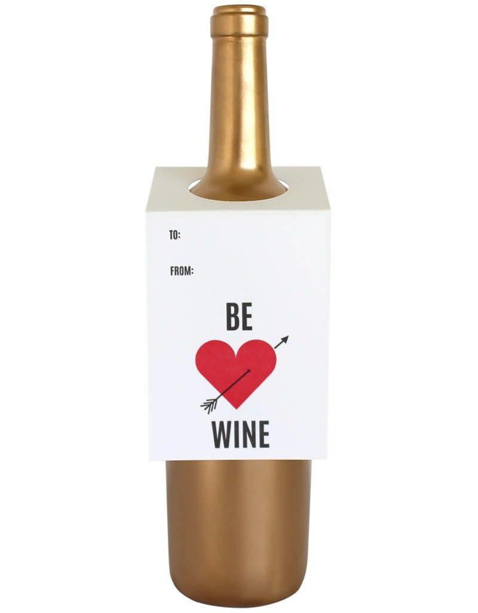 Be Wine Wine Tag - Single