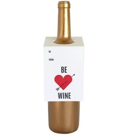 Be Wine Wine Tag - Single