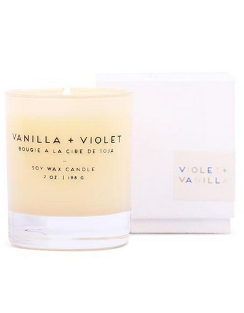 Vanilla + Violet Candle - 7 oz.