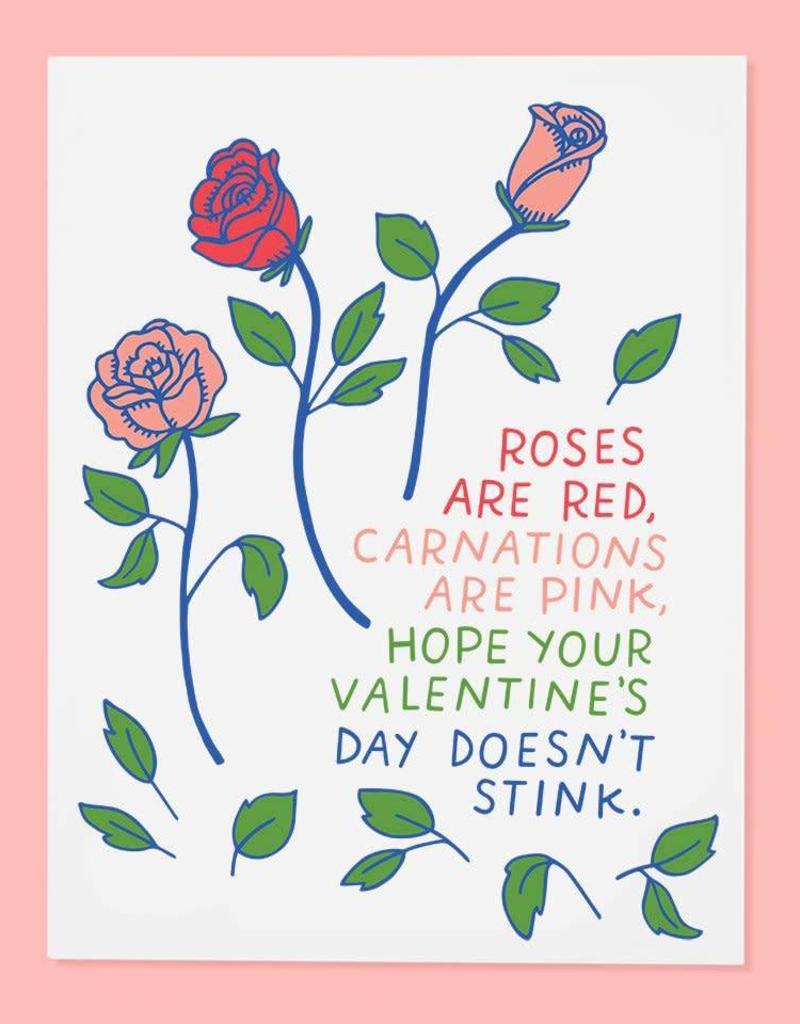 Stinky Valentine's Day Card