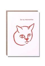 Be My Meowentine Card