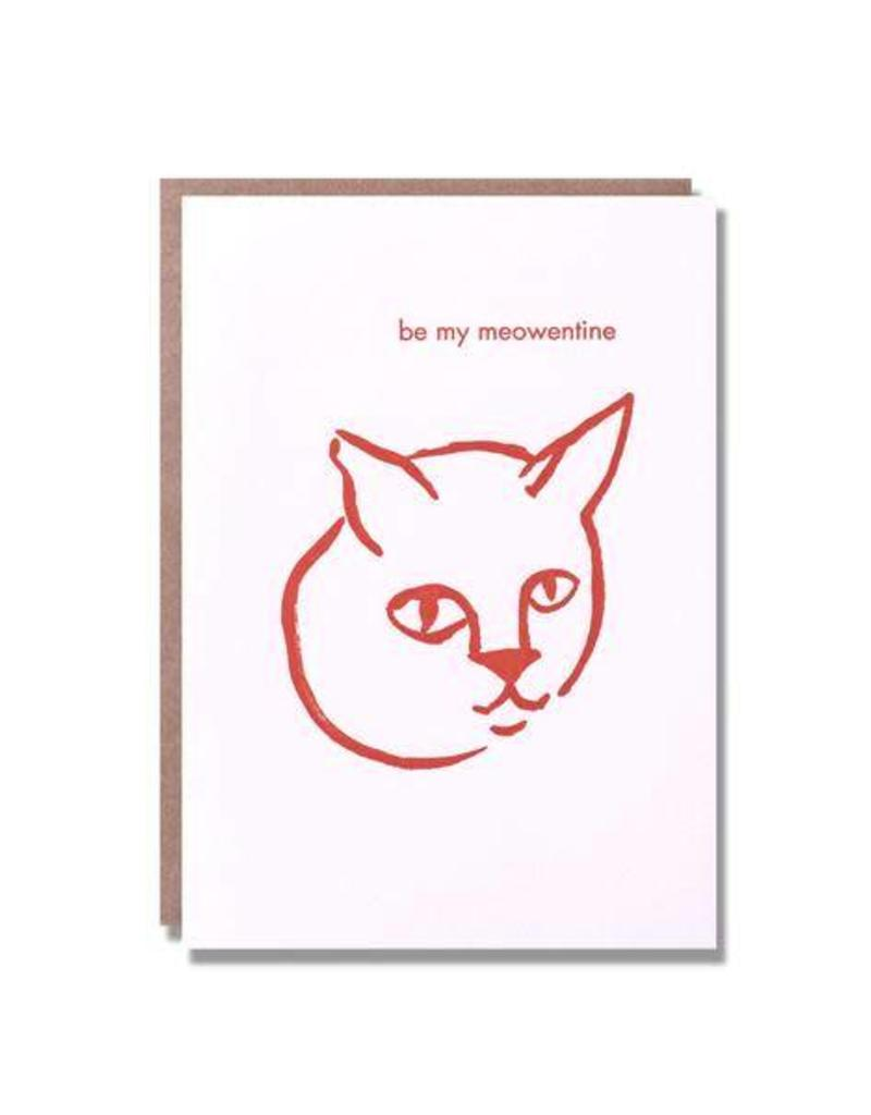 Be My Meowentine Card