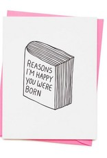 Reasons I'm Happy Card
