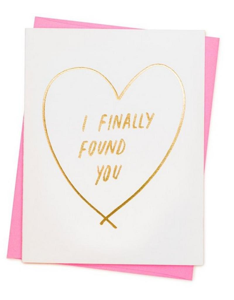 Finally Found You Card