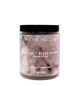 Hibiscus + Blood Orange Sugar Scrub
