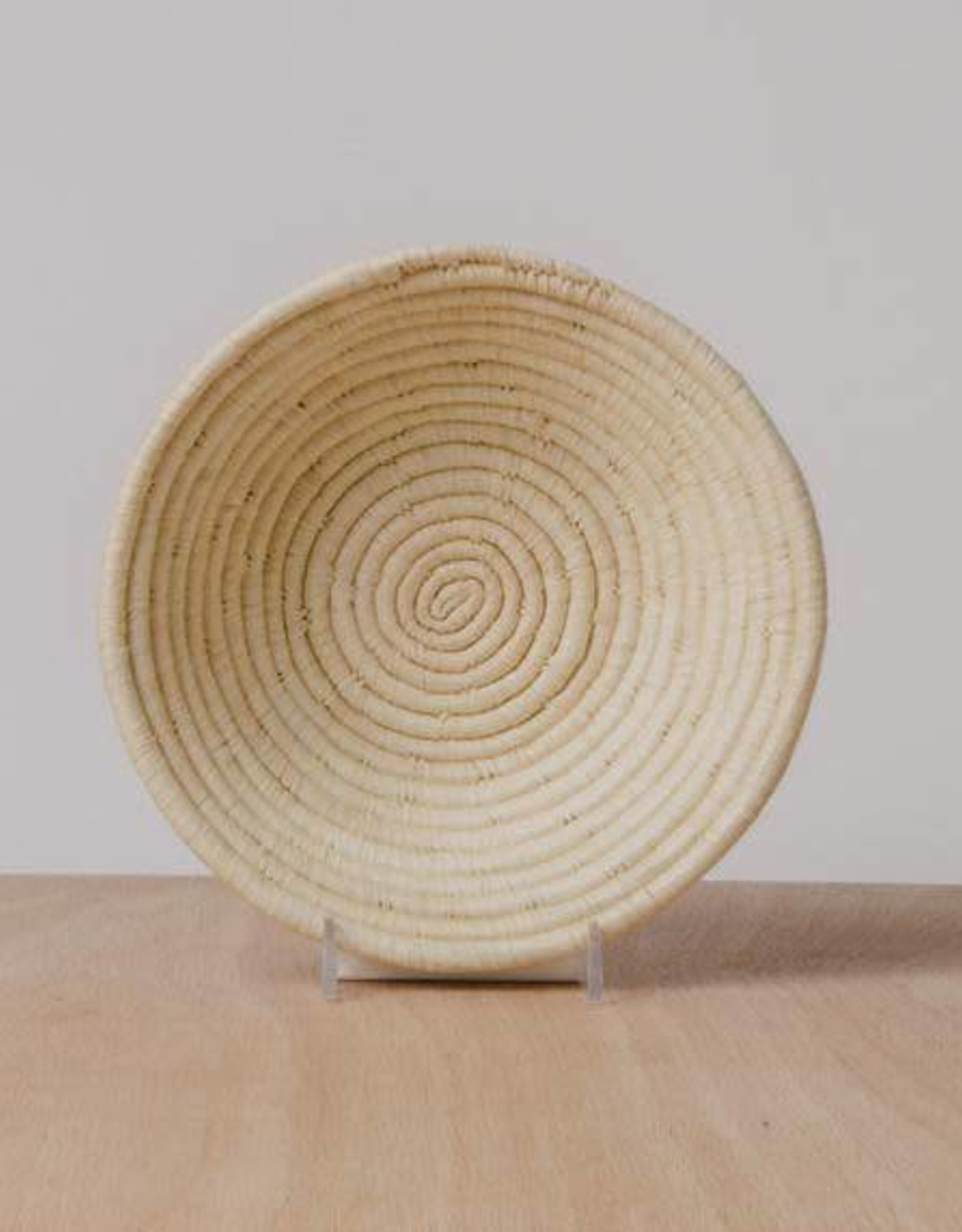 Natural Small Raffia Bowl