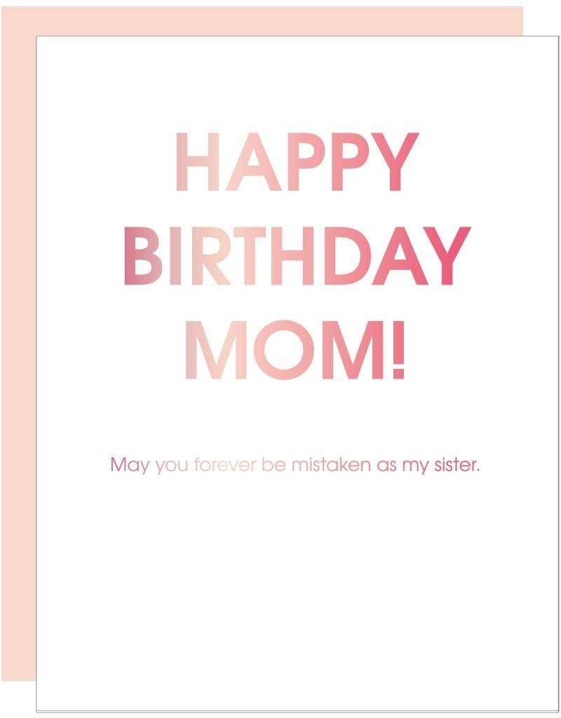 Mistaken As My Sister Card