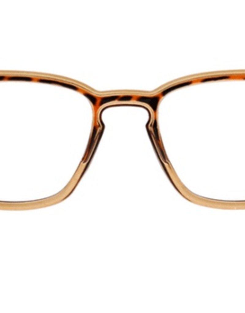 Strut Blue Light Glasses - Tan/Tortoise