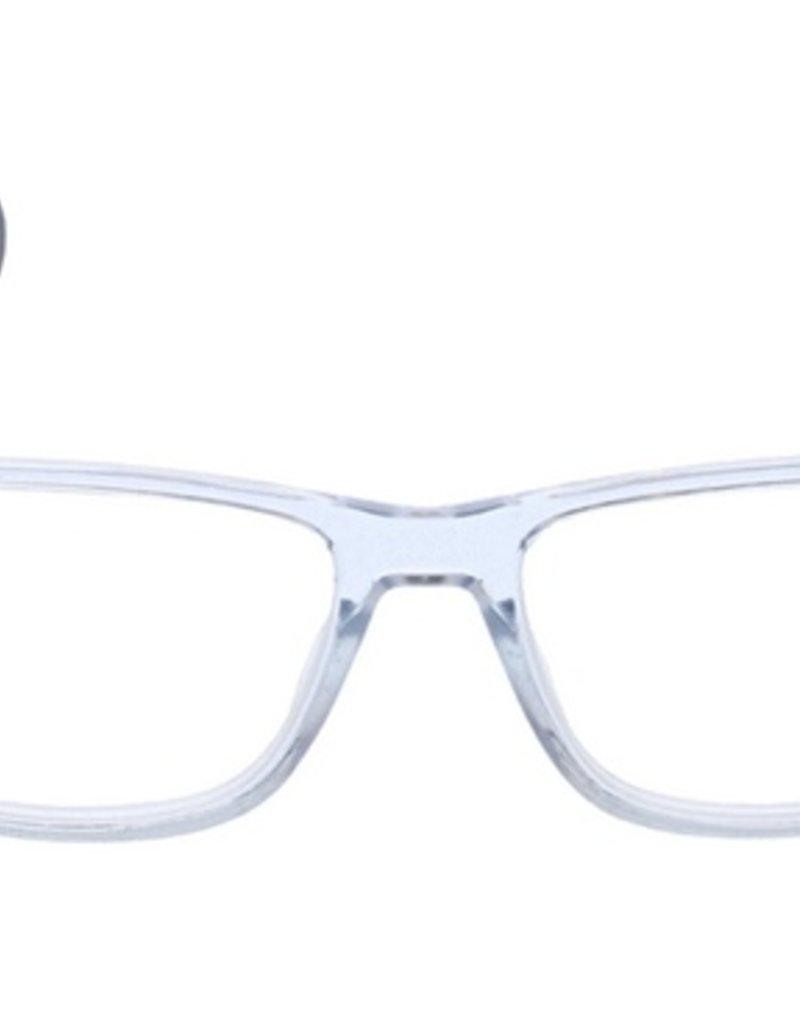Hutch Blue Light Glasses - Clear/Black