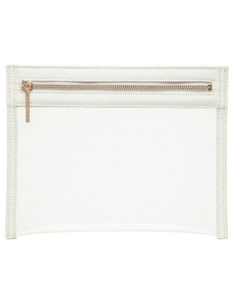Clarity Clutch Small - White