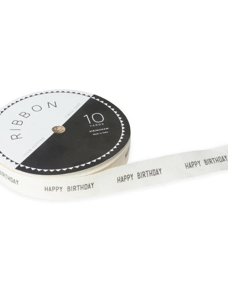 Happy Birthday Ribbon - 10 yds.